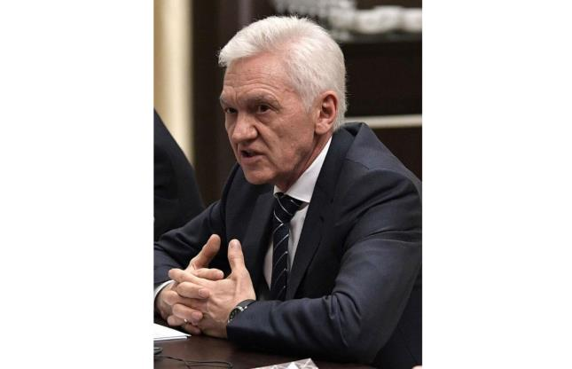 Slide 7 of 33: One of the most powerful people in Russia, Gennady Timchenko is a Russian businessman and billionaire. He has stakes in various Russian business and has close ties to President Vladimir Putin.